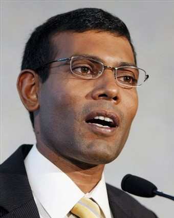 Maldives ex-President 'Mohamed Nasheed arrested'