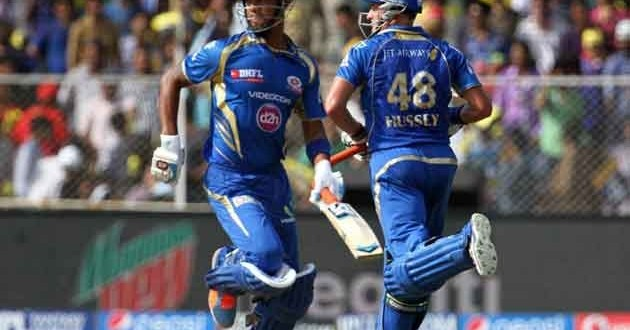 IPL 7: Mumbai's slim playoff chances stay alive with win over Rajasthan