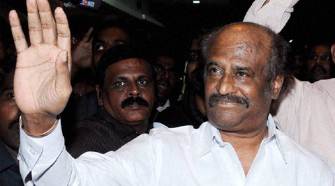 Tamil legend Rajinikanth shoots for 'Lingaa'