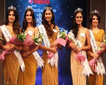 Yamaha Fascino celebrates the spirit of Indian girls at Miss Diva Universe 2014 in Mumbai