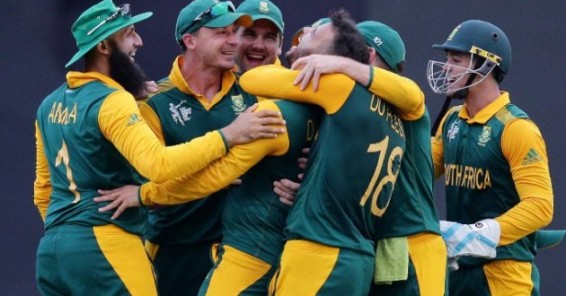 South Africa spin twins knock Sri Lanka out of World Cup