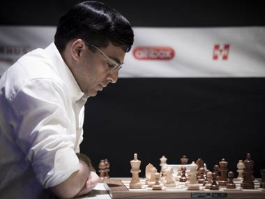 Anand to meet Carlsen in Shamkir Chess opener