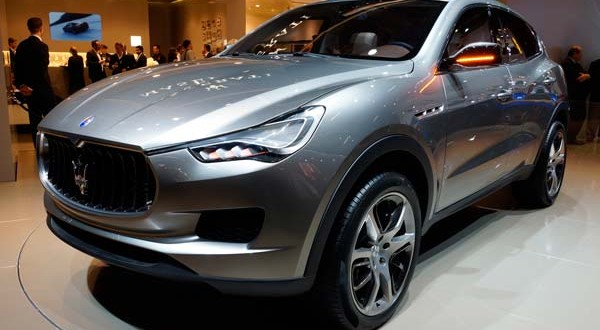 Maserati Levante To Be Showcased As First Crossover At Detroit