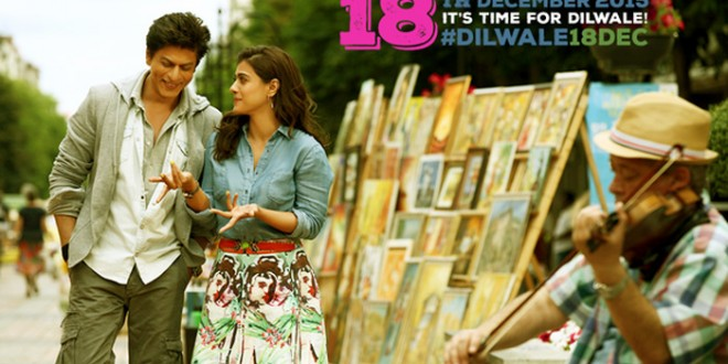 Kajol-Shah Rukh Khan's 'Dilwale' to release on December 18