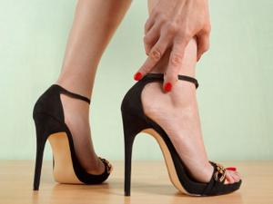 This is what high heels do to your feet