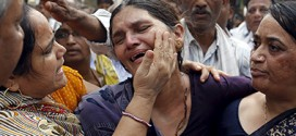 Patel agitation: Will fight till the end for justice says mother at funeral of Shwetang Patel