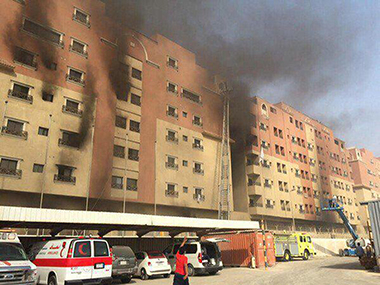11 dead dozens injured in fire at Saudi oil giant housing complex