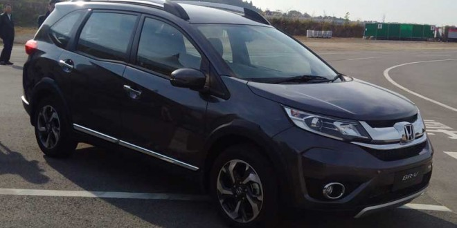 Honda BR-V Compact SUV First Drive