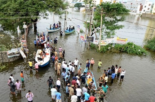 Chennai: Firemen save over 5000 people in waterlogged areas