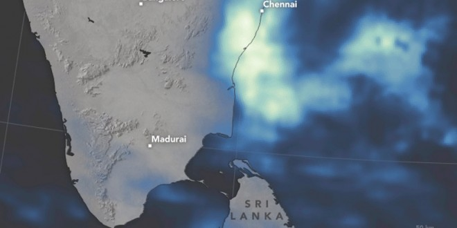 Chennai Received More Rainfall on December 1 Than Any Day Since 1901: Nasa