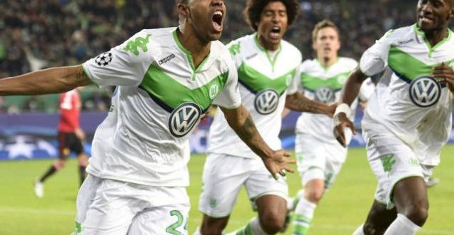 Wolfsburg oust Manchester United from Champions League in a thriller