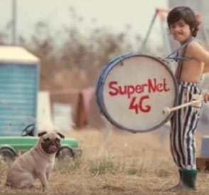 Vodafone's iconic mascot Cheeka the pug makes a comeback with SuperNet 4G