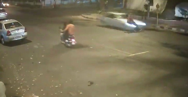 Watch: Shocking CCTV footage of the Delhi Mercedes hit-and-run accident