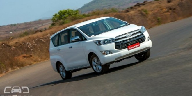 Toyota Innova Crysta launched at Rs. 13.8 Lakh