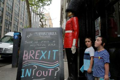 Brexit or not Votes show divided Britain result too close to call