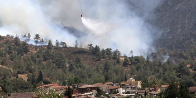 Greece, UK and Israel help tackle deadly forest fire in Cyprus