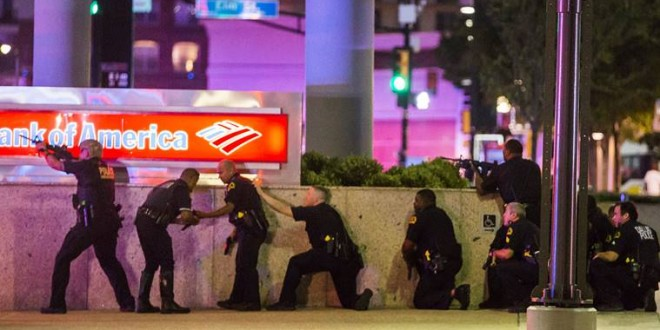 Dallas Shooting Four police officers killed during protests