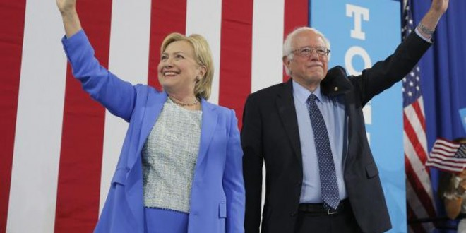Sanders endorses Clinton for White House in show of party unity | Reuters