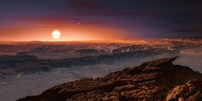 Neighbouring star Proxima Centauri has Earth-sized planet