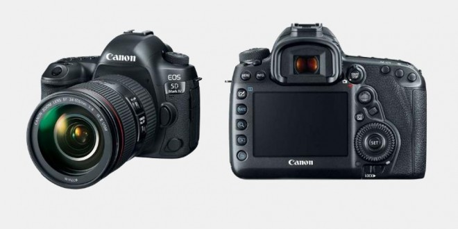 Canon EOS 5D Mark IV high end camera launched in India