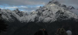 The other side of the Himalayas