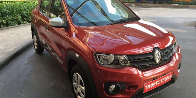 Renault Kwid AMT To Launch During The Festive Season