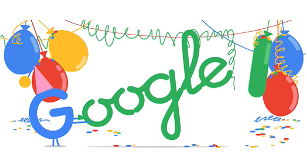 Google celebrates 18th birthday with a Doodle – amid some confusion over the correct date