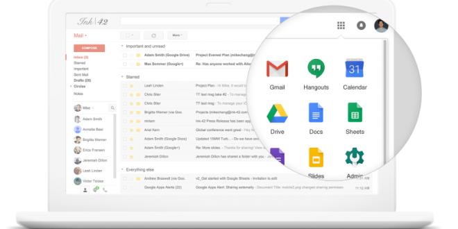 Google Cloud Division Announced; Google Apps for Work Rebranded to G Suite
