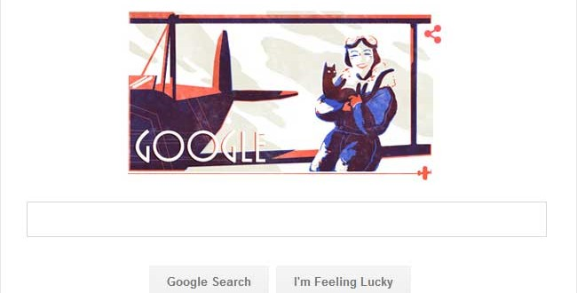 Google's Flying Salute To Jean Gardner Batten On Her 107th Birthday