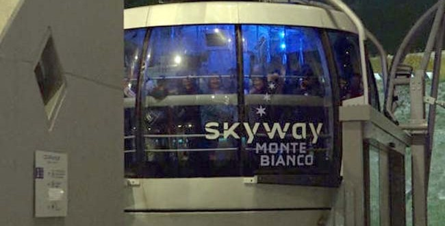 Dozens Stuck Overnight In Cable Cars, Helicopters Drop Off Blankets