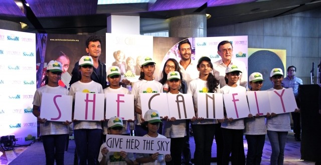 Ajay Devgn joins Smile Foundation as goodwill ambassador, unveils #SheCanFly campaign with daughter Nysa!