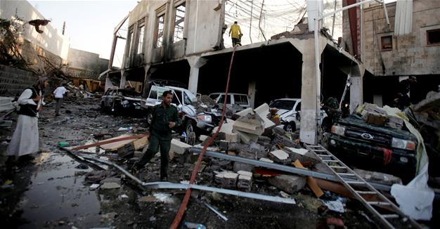 Attack on mourners in Yemen kills more than 140, say local health officials   Reuters