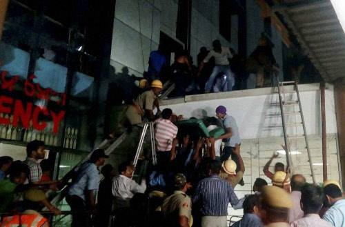 20 dead in Bhubaneswar hospital fire, short circuit suspected