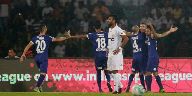 ISL 2016: Chennaiyin FC Break NorthEast United FC Jinx