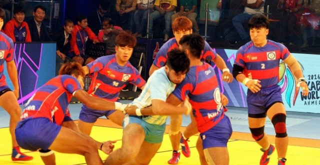 Kabaddi World Cup 2016: Korea displace India to go atop table