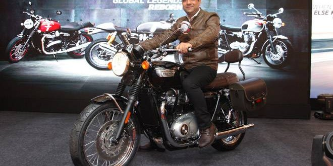 We sell a complete riding experience, says Triumph India MD