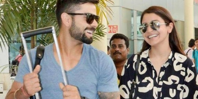 Anushka and Virat spend the holidays together in the company of their parents!