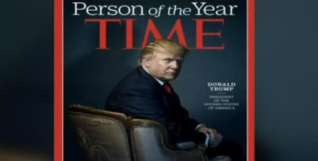 The internet has a field day with Time Magazines Person of the Year honour