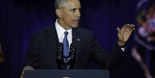 In last speech as US President, Obama warns against racism, anti-immigrant, anti-Muslim sentiment under Trump