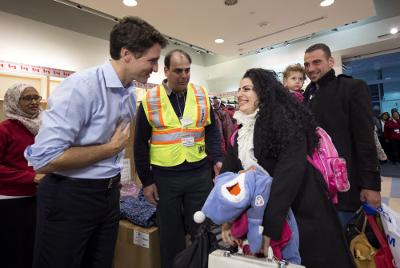 You're welcome in Canada: PM Trudeau to refugees