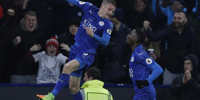 Premier League: Jamie Vardy Fires Leicester City To Win Over Liverpool