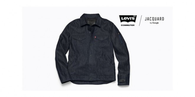 Google, Levi's smart jacket to go on sale later this year