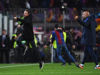 Champions League: Barcelona are back in paradise thanks to manager Luis Enrique