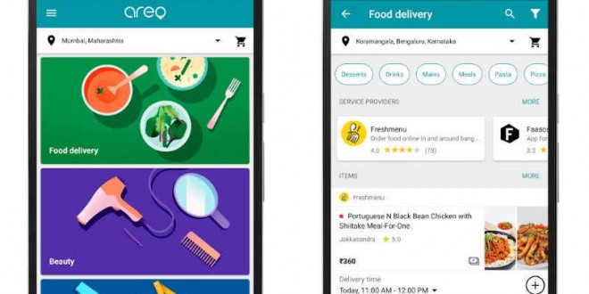 Google Areo App Launched in India, Bundles Local Services Like Faasos and UrbanClap