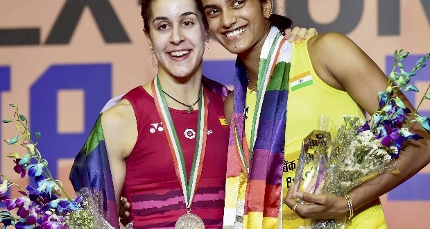 P V Sindhu beats Carolina Marin to win India Open, avenges Olympic loss