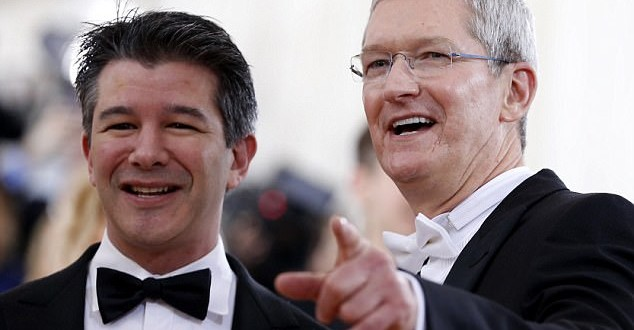 Uber's CEO surrendered in showdown with Apple's Tim Cook after iPhone maker threatened to effectively shut down ride-sharing app when it was caught violating privacy regulations