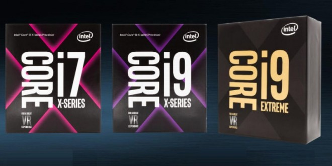 Intel Core-X Series Desktop CPUs Unveiled, Including New Core i9 Chips