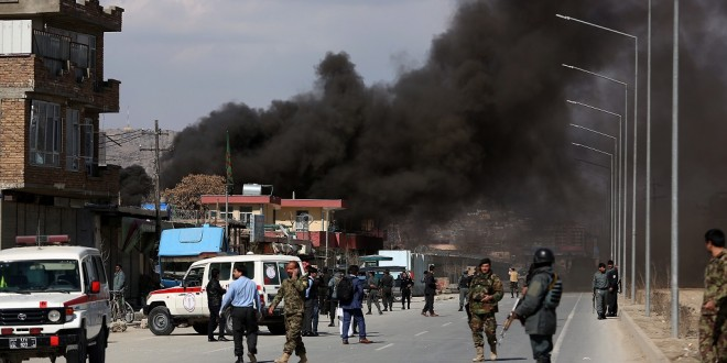Afghanistan: 50 'killed or wounded' in Kabul bomb blast, say reports; attack reported in diplomatic district