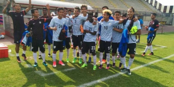 Indian U17 team record historic 2-0 win over Italian U17 team
