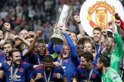 Manchester United outclass Ajax to win Europa League on emotional night